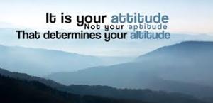 Attitude versus Aptitude.