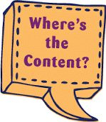 Where's the content?