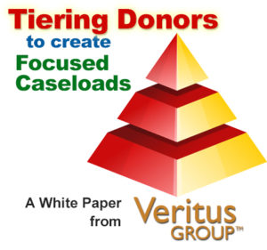 Tiering Donors to create Focused Caseloads
