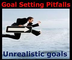 Unrealistic Goals.