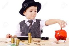 picture of a child putting money in a piggy bank donor relationships