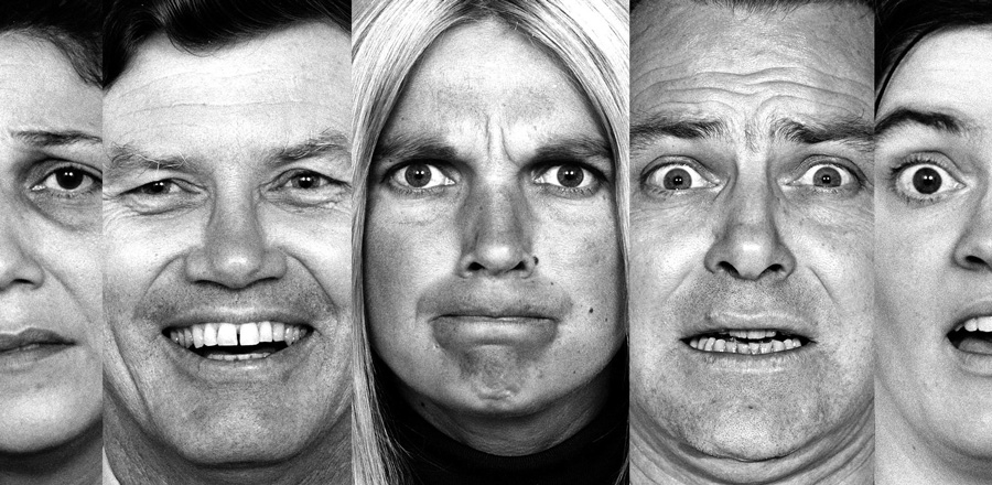picture of faces showing different emotion