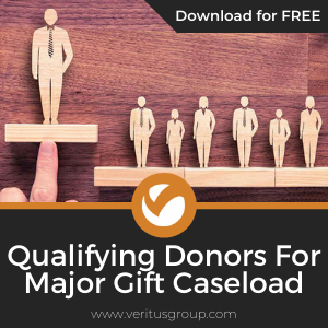 Qualifying Donors for Major Gift Caseloads