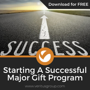 Starting a Successful Major Gift Program