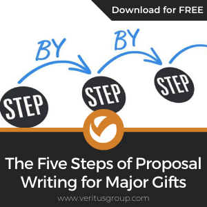 The Five Steps of Proposal Writing for Major Gifts