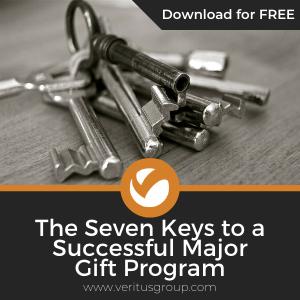 Seven Keys to a Successful Major Gift Program