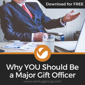 Why YOU Should Be a Major Gift Officer