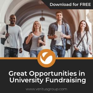 Great Opportunities in University Fundraising